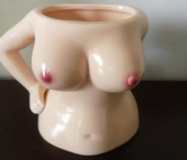 Fun sexy girls ceramic coffee cup