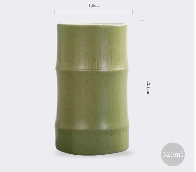 Bamboo style Ceramic Mug