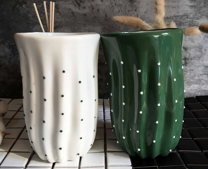 Ceramic Cactus Coffee Mug