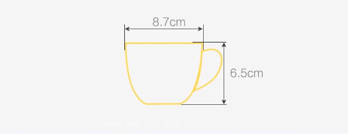Cute Cat Figurine Ceramic Coffee Cup Mug