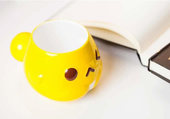 Cute Little Black Cat Coffee Cup