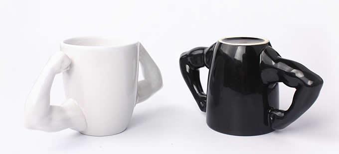 Muscle Man Ceramic Coffee Mug Feelgift