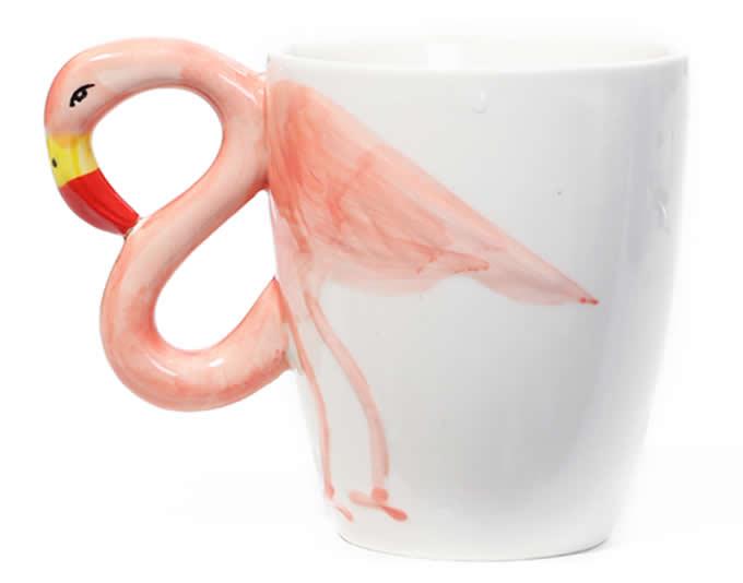 Phoenicopteridae  Ceramic Coffee Cup