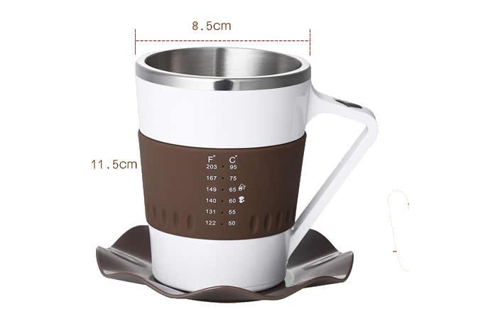 Smart Temperature Display Coffee Mug