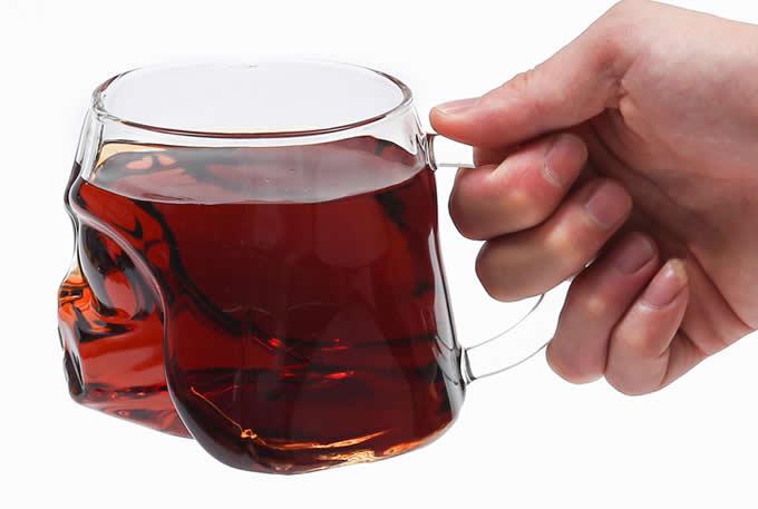 Soldier Helmet Glass Drinking Ware Cup