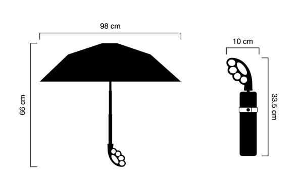 Fist Handle Umbrella