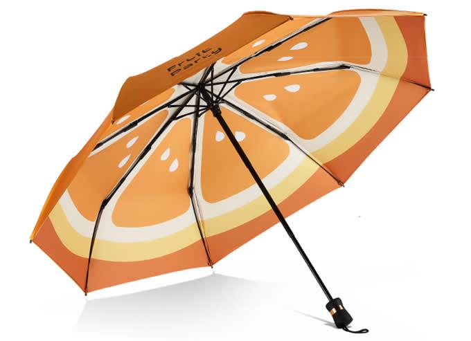 Fruit  Double Layer Sun rain Folding Umbrella