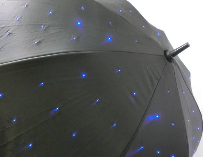 Night Glow LED Flashlight Umbrella