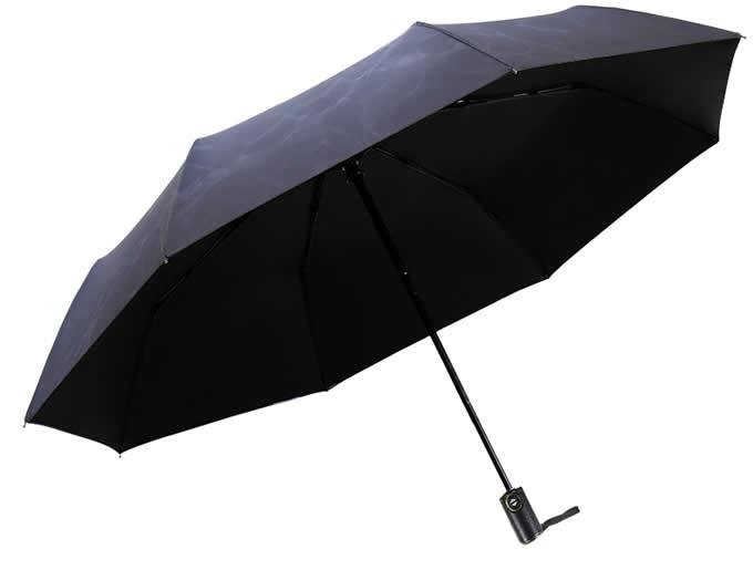 Ocean Fish Foldable Travel Rain Umbrella
