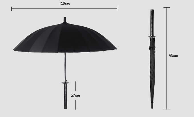 Samurai Sword Katana Umbrella