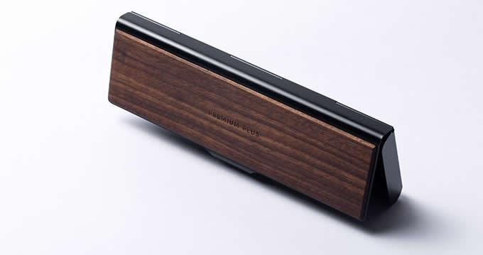 Aluminum alloy & Wooden Pen Pencil Case Box