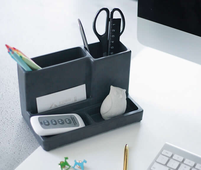 Pen Holders Search For Flights Multifunctional Office Desktop Decor Storage Box Leather Stationery Organizer Pen Pencils Remote Control Mobile Phone Holder
