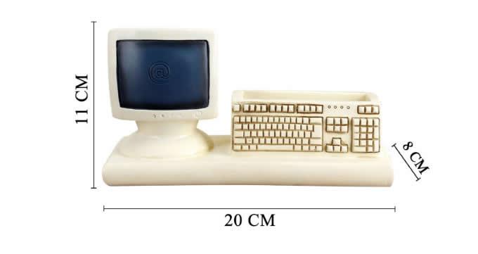 Internet Computer Terminal Keyboard Pen Pencil Holder