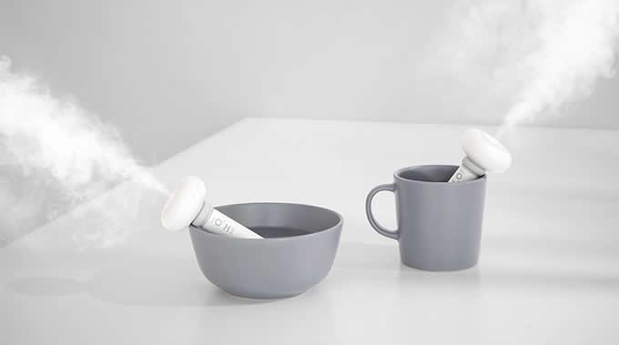 Portable USB Doughnut Humidifier Air Essential Oil Purifier Aroma Diffuser