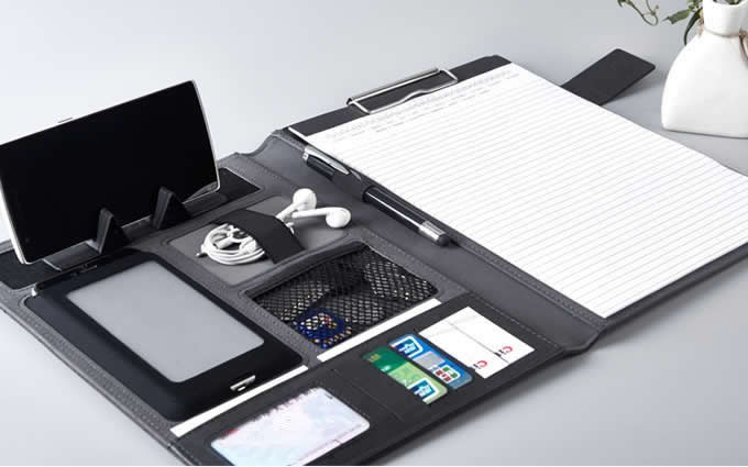 A4 Padfolio Organizer Writing Pad Business Presentation