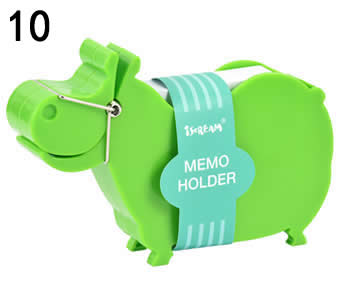 Animal Style Memo Paper Clip with Holder
