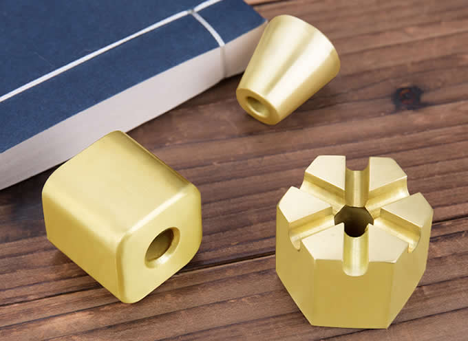Brass Pen Stand,Mini Size Pen Holder - Desktop Organizer