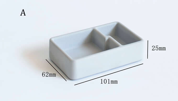 Concrete Paper Clip Holder Push Pin Holder