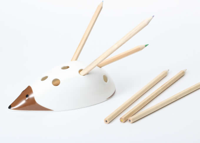 Creative Hedgehog Pen Pencil Holder Desk Organizer