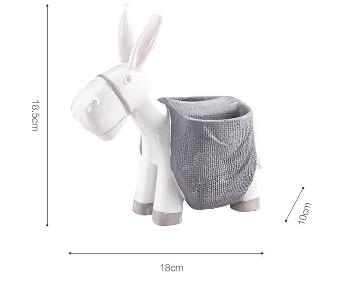 Cute Donkey Pen Pencil Holder Desk Decoration Accessories Feelgift