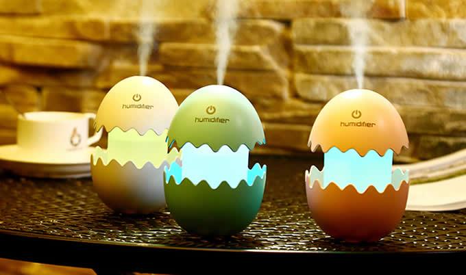 Egg Shaped Mist Humidifier