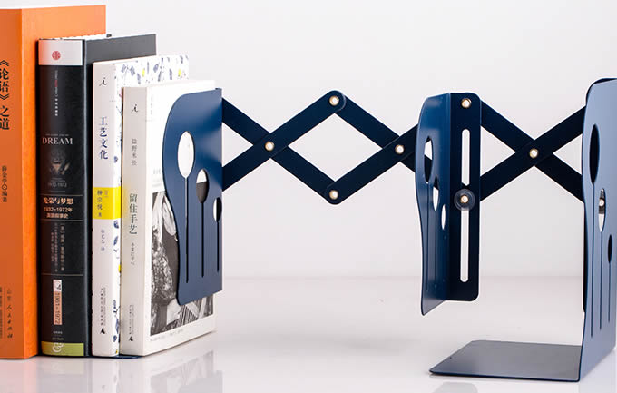 Metal Folding  Bookend
