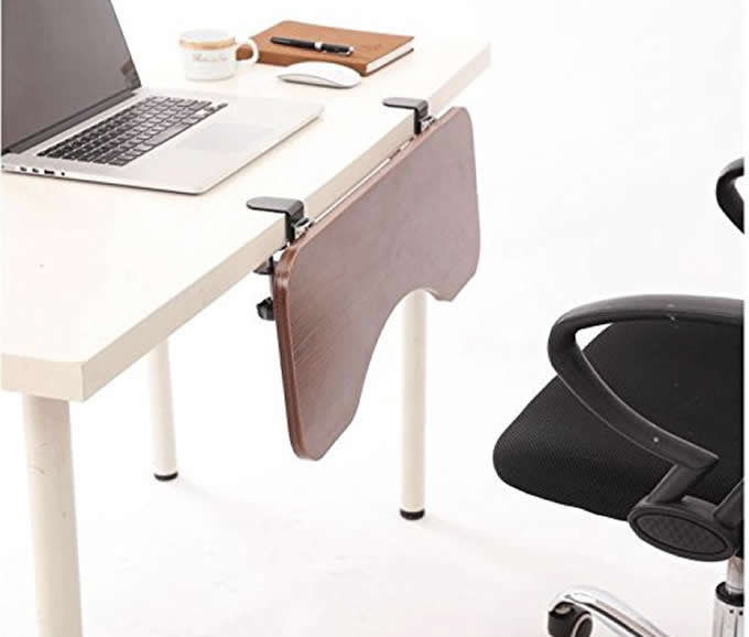 Table Mount Arm Rest Shelf Stand