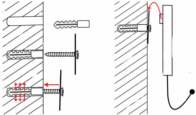 3Pcs Film Action Scene Art Coat Hook Wall Hangers /></p>     </div>                             <div class=