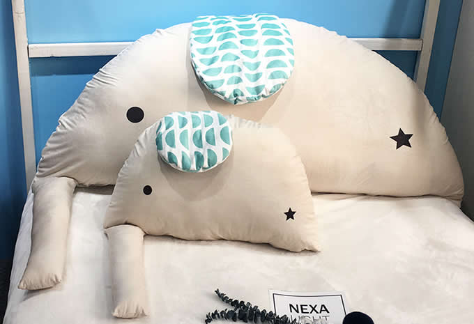 Elephant Style Pillow Cushion Plush Stuffed