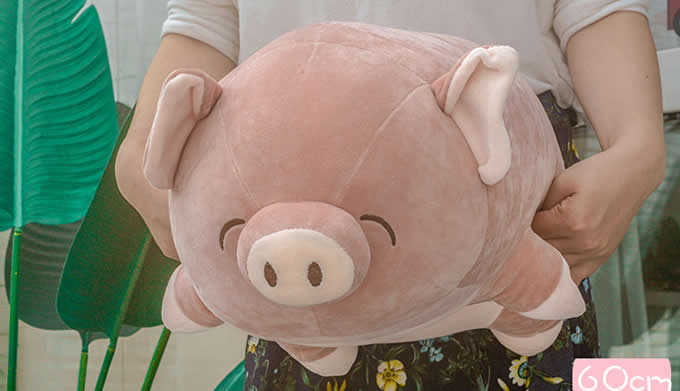 Lovely Pig Style Pillow Cushion Office Nap Cartoon Pillows