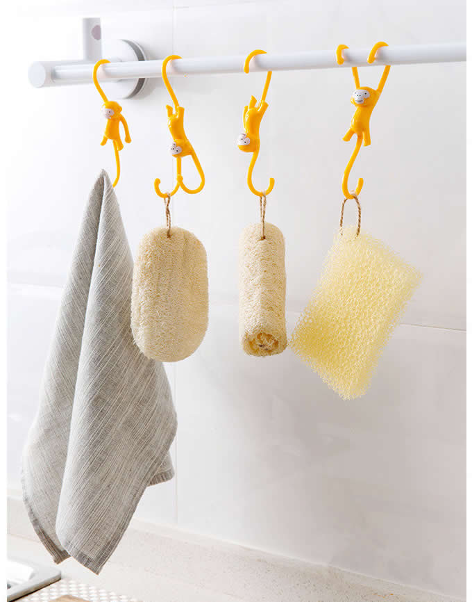 Monkey Hanger Hooks,Set of 3