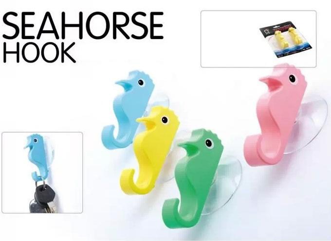 Seahorse  Sucker Wall Hooks