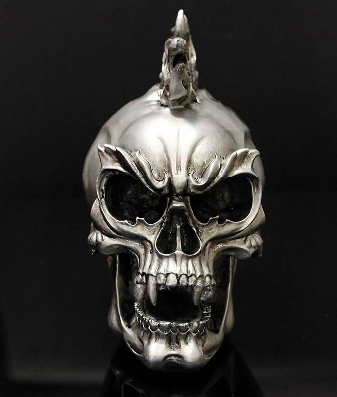 Skull Head Figurine Display Decoration Feelgift