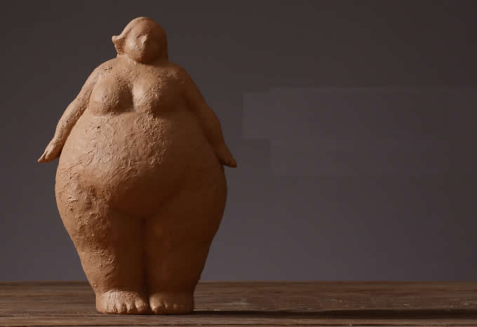 Women Resin Sculpture Home Decor Modern Art Figurine