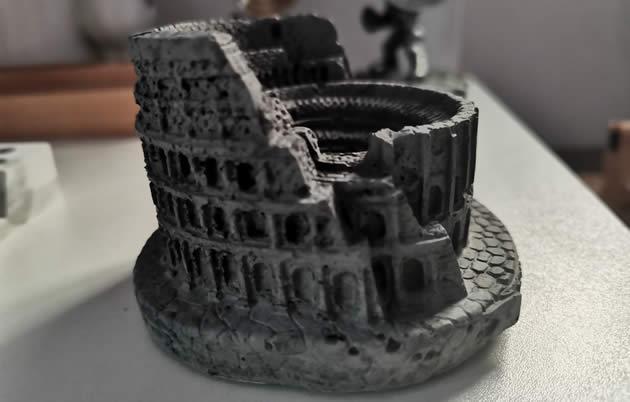 Classic Colosseum Concrete Model Small Decoration Ornaments