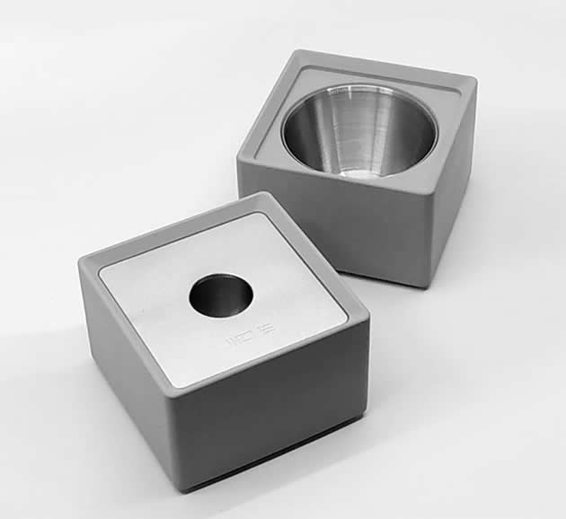 Creative Concrete Cement Living Room Office Windproof Ashtray