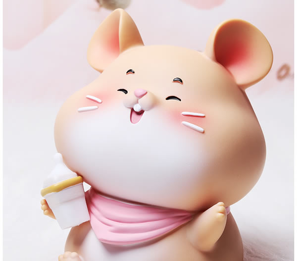 Cute cartoon little mouse change piggy bank Children gift idea