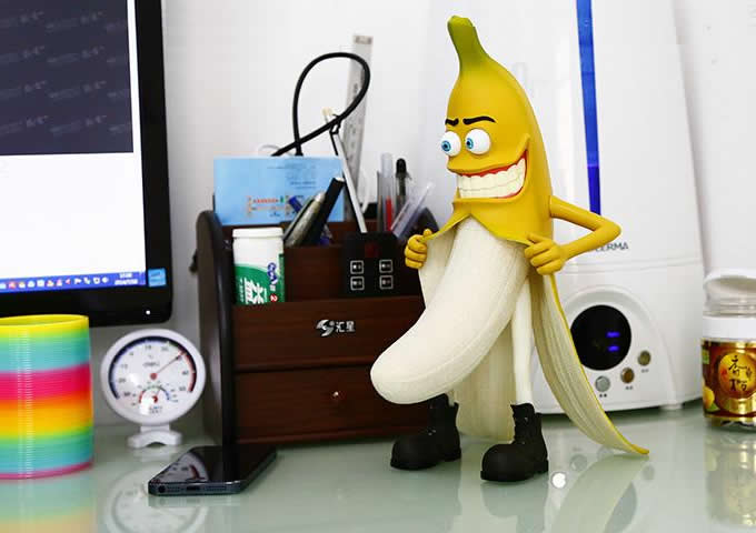 Banana Man model  Decorative
