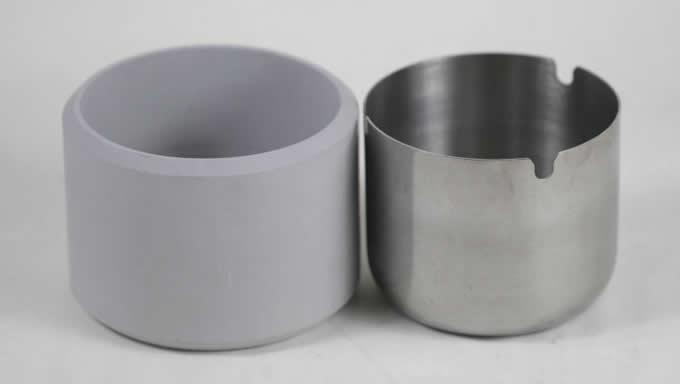 Concrete  Round Cigarette Ashtray Holder for Home