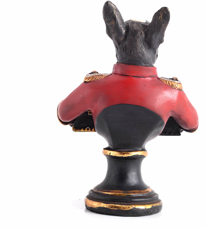 Dog Style Business Card Holder Display Stand