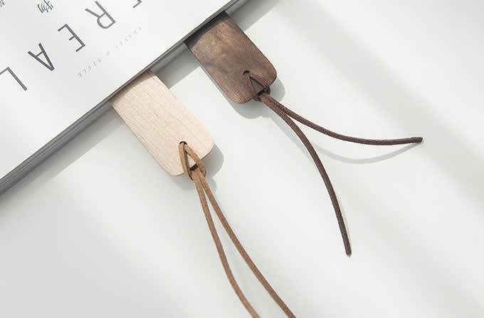 Handmade Natural Wood Bookmark