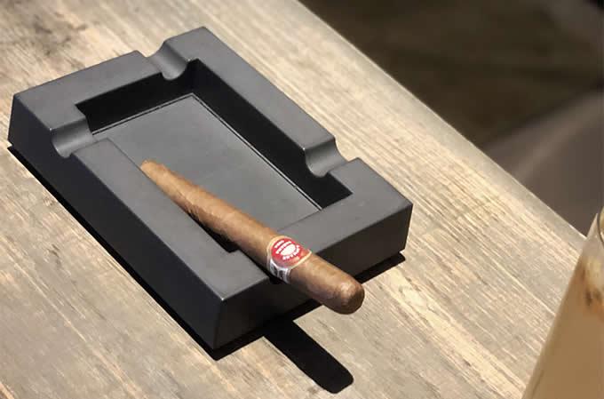 Handmade Suqare Cement Concrete  Cigar Cigarette Ashtray