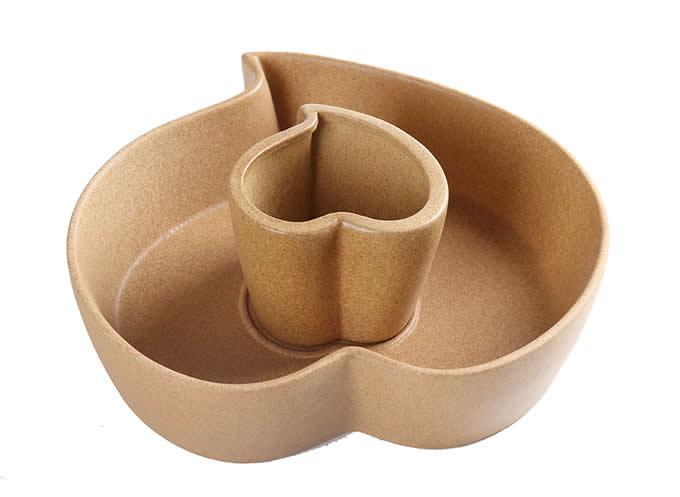 Heart Shaped Design Ceramic Plant Pot Flower  Planter