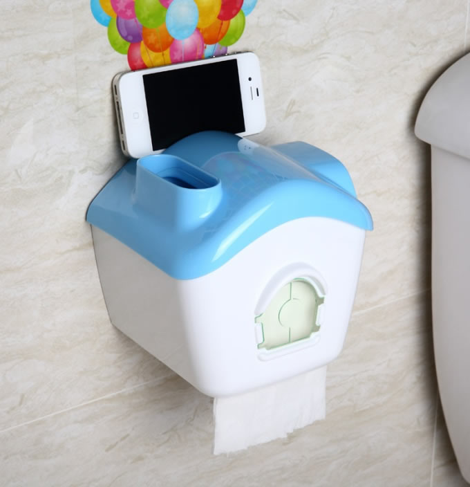 House Shaped Toilet Paper Holder Feelgift