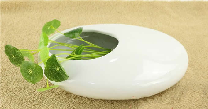 Pebble Modern Ceramic Vase