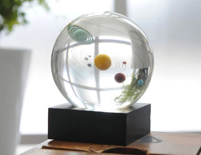 Planet Simulation Crystal Ball - FeelGift