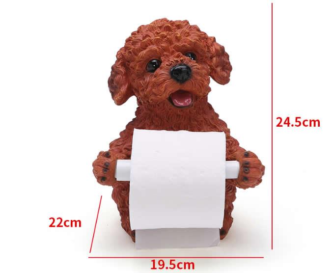 Resin Animal Desk Roll Paper Holder
