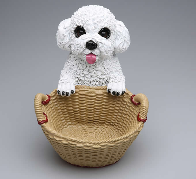 Resin Dog Carrying Basket Container
