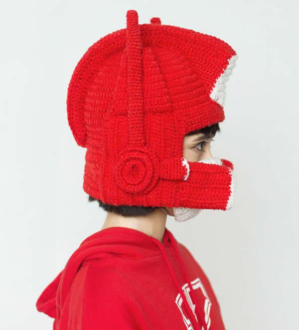 Optimus Prime Crochet Hat - FeelGift