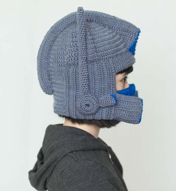 Crochet Pattern For Optimus Prime Hat : Optimus Prime Crochet Hat - FeelGift